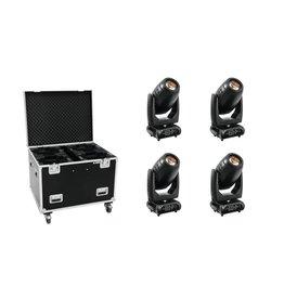 EUROLITE EUROLITE Set 4x PLB-280 + Case
