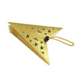 EUROPALMS EUROPALMS Star Lantern, Paper, gold, 40 cm