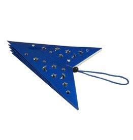 EUROPALMS EUROPALMS Star Lantern, Paper, blue, 40 cm