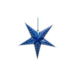 EUROPALMS EUROPALMS Star Lantern, Paper, blue, 50 cm