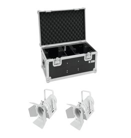 EUROLITE EUROLITE Set 2x LED THA-40PC wh + Case