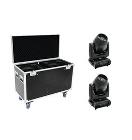 FUTURELIGHT FUTURELIGHT Set 2x DMB-160 LED Moving-Head + Case