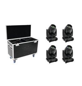 FUTURELIGHT FUTURELIGHT Set 4x DMB-160 LED Moving-Head + Case