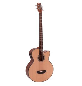DIMAVERY DIMAVERY AB-455 Acoustic-Bass, 5-string, nature