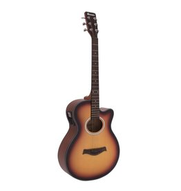 DIMAVERY DIMAVERY AW-400 Western guitar, sunburst