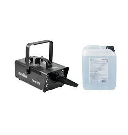 EUROLITE EUROLITE Set Snow 5001 Snow machine + Snow fluid 5l