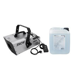 EUROLITE EUROLITE Set Snow 6001 Snow machine + Snow fluid 1l