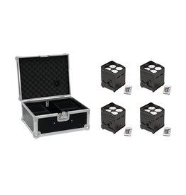 EUROLITE EUROLITE Set 4x AKKU UP-4 QCL Spot QuickDMX + Case