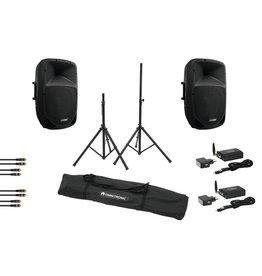 OMNITRONIC OMNITRONIC Set VFM-215AP + VFM-215A + WS-1T + WS-1R + Speaker st