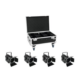 EUROLITE EUROLITE Set 4x LED THA-60PC + Case