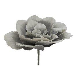 EUROPALMS EUROPALMS Giant Flower (EVA), stone grey, 80cm