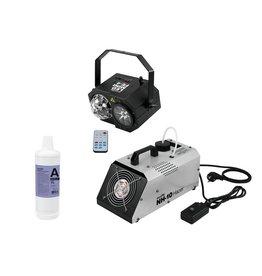 EUROLITE EUROLITE Set LED Mini FE-4 + NH-10 + Smoke Fluid -A2D- 1l