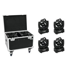 EUROLITE EUROLITE Set 4x LED MFX-3 Action Cube + Case
