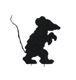EUROPALMS EUROPALMS Silhouette Creepy Mouse, 56cm