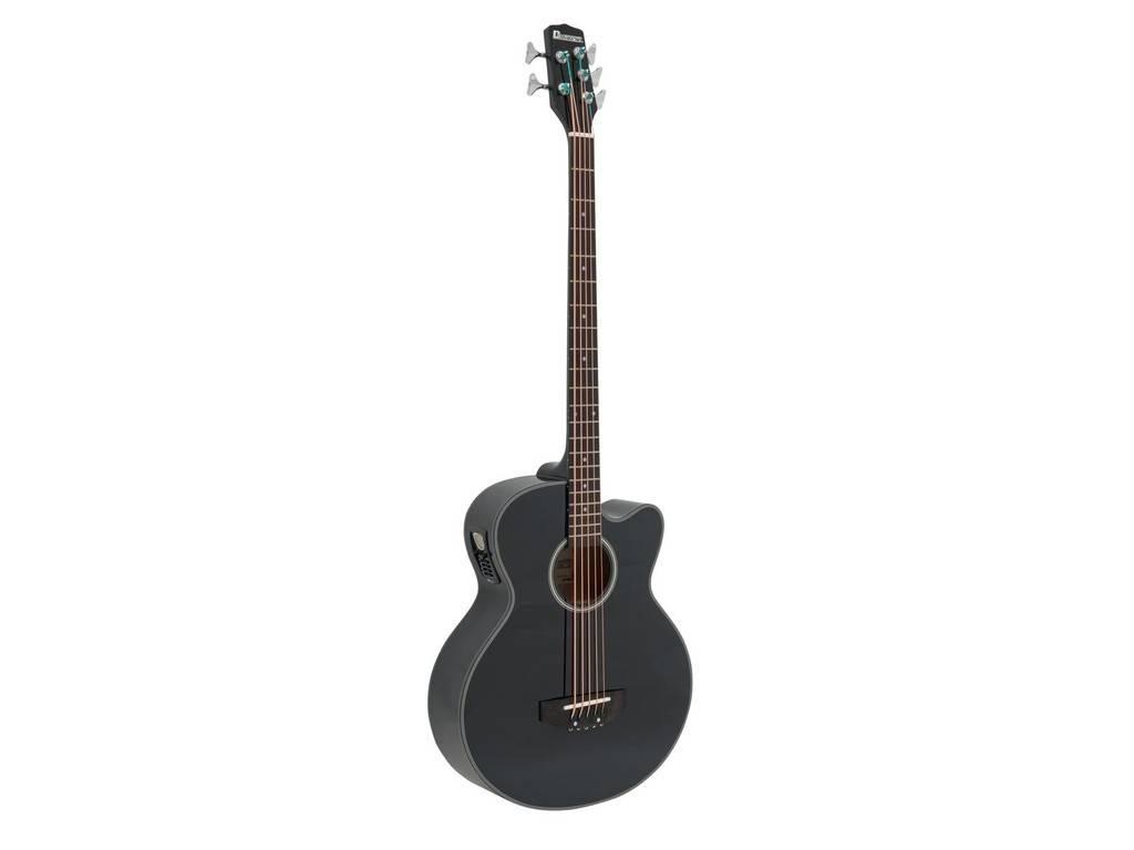DIMAVERY DIMAVERY AB-455 Acoustic Bass, 5-string, schwarz