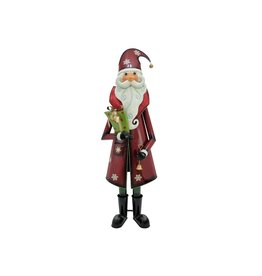 EUROPALMS EUROPALMS Santa Claus, Metal, 195cm, red