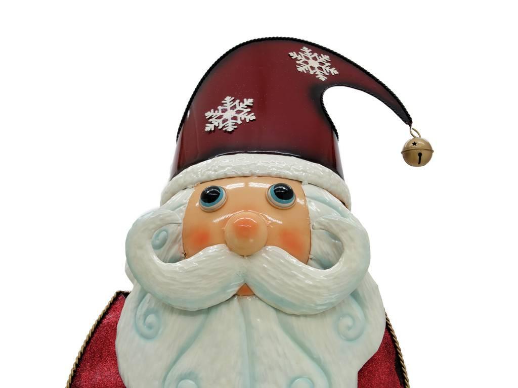 EUROPALMS EUROPALMS Santa Claus, Metal, 195cm, red