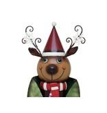 EUROPALMS EUROPALMS Reindeer with Coat, Metal, 155cm, green