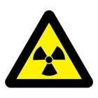 Radioactieve stoffen sticker