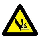 Let op uw vingers sticker