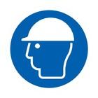 Helm verplicht sticker