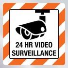 Beveiligingssticker video surveillance