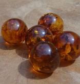 Interchangeable gemstone Amber