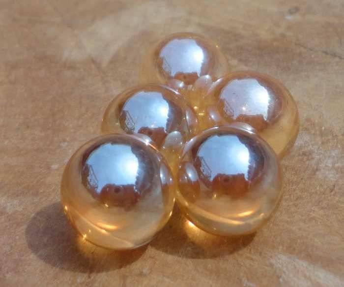 Interchangeable gemstone Golden Aura