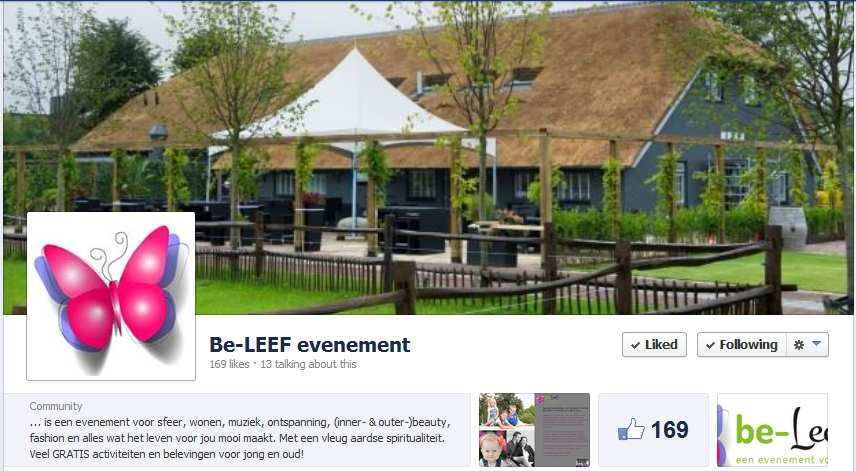 be-LEEF! facebook 2014