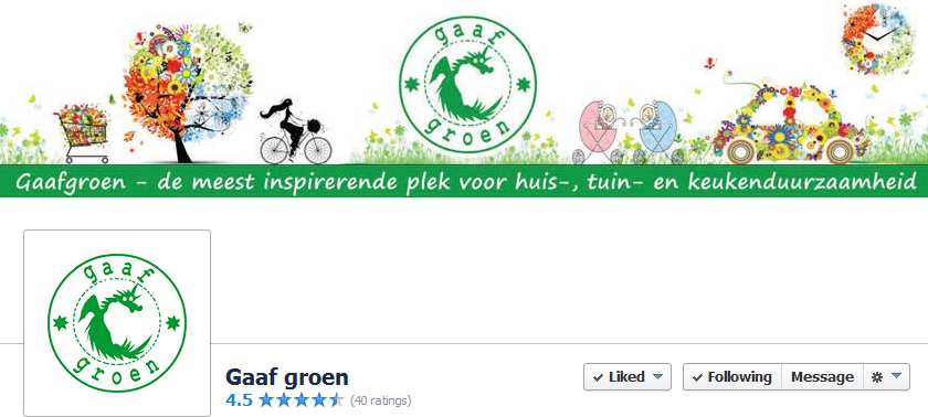 Gaaf Groen facebook