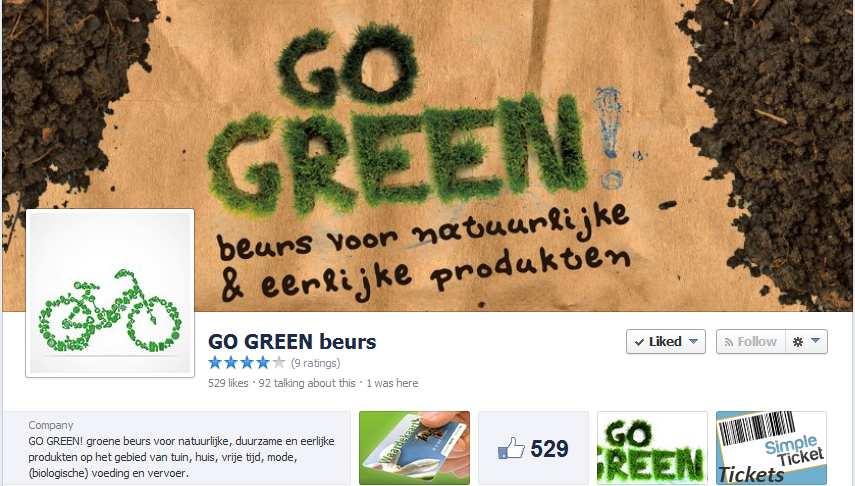 Go Green facebook 2014