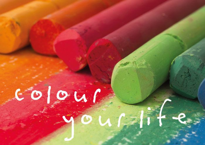 the life of a color crayon