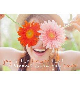 ZintenZ postcard Joy is the flower