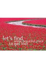 ZintenZ postkaart Let's find
