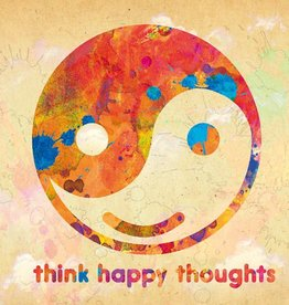 ZintenZ postcard Think happy thoughts