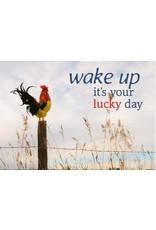ZintenZ postkaart Wake up