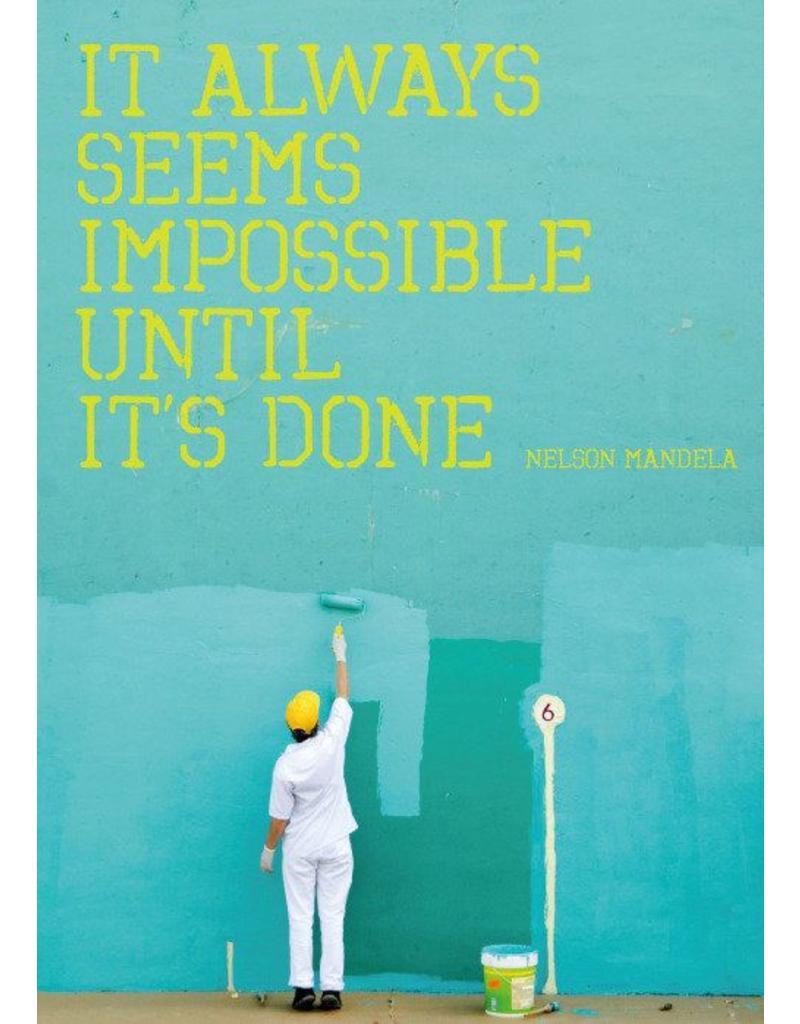 ZintenZ postkaart It always seems impossible