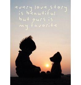 ZintenZ postcard Every love story