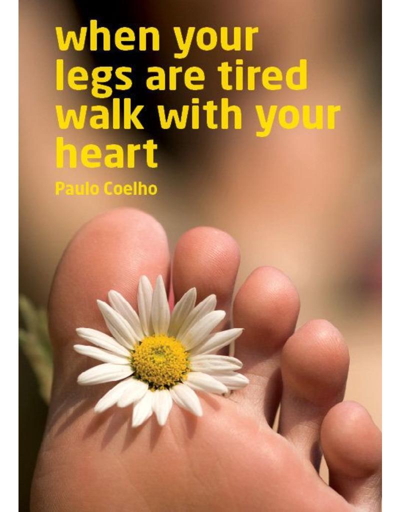 ZintenZ postkaart When your legs are tired