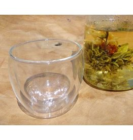Numi Tea teaglass double walled