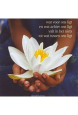 ZintenZ postcard Wat voor ons ligt