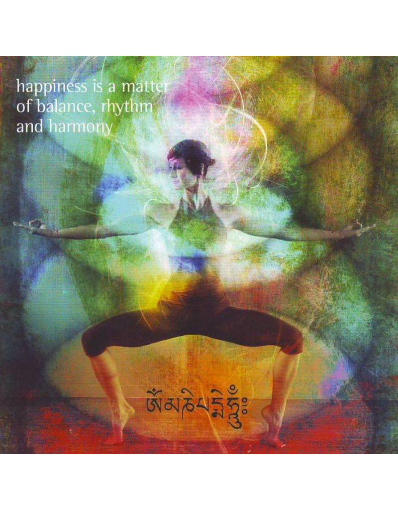 ZintenZ postkaart Happiness is a matter of balance