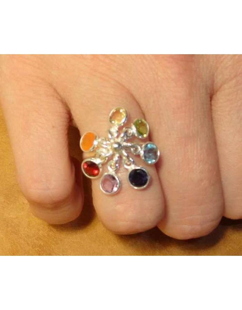 Shanti ring zeven chakra's