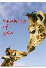 ZintenZ postkaart Thinking of you