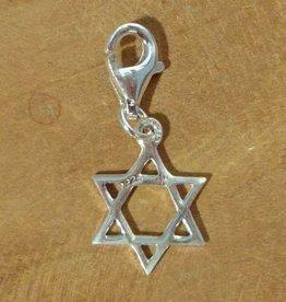 Shanti charm Star of David