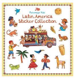 Putumayo Kids stickerboek Latijns Amerika