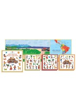 Putumayo Kids stickerboek Latijns Amerika