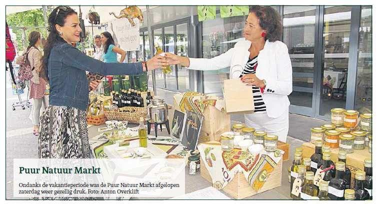 2 augustus 2014: Puur Natuur Markt Wassenaar