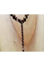 JewelryByM necklace leopard stone & Buddha