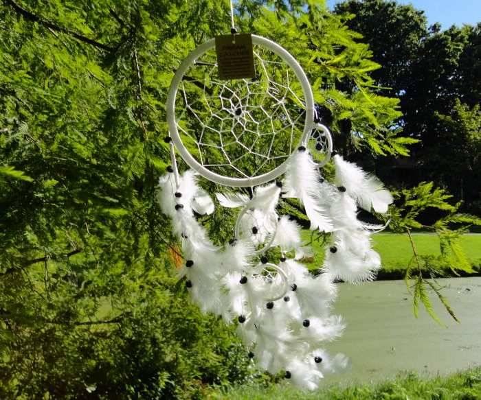 Dreamcatcher white / creme